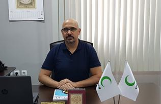 """Yeşilay Osmaniye Şube Başkanı İrfan TUFAN: """"Sağlıklı  nesiller için 'YEŞİLAY HEP BENİMLE'"""