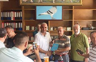 Türkiye Güvercin Federasyonu yönetimine OSMANİYE'DEN YUNUS AKDAĞ GİRDİ